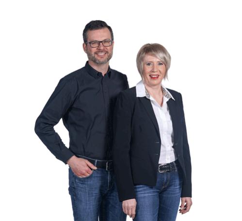 Susanne Denk mit Ehemann